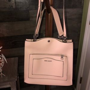 Steve Madden pale pink purse (like new/never used)